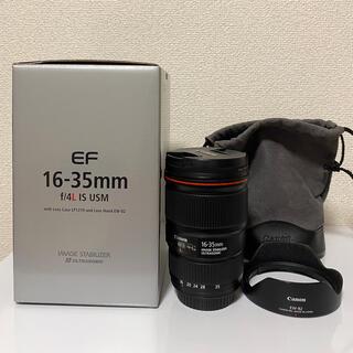 Canon - Canon EF16-35mm F4L IS USM  広角 ズーム レンズ