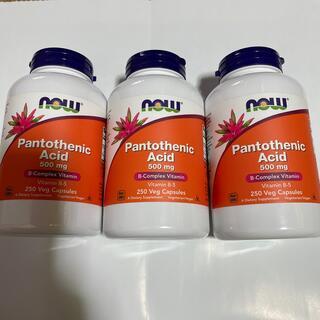ナウフーズ パントテン酸(ビタミン)
