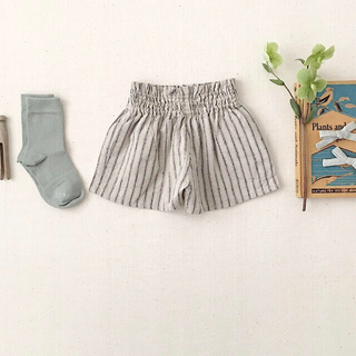 soor ploom Coco Shorts Ticking Stripe 4y