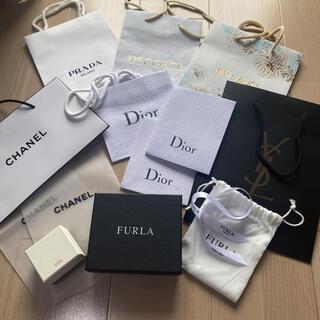 シャネル(CHANEL)のCHANEL Dior イヴ・サンローラン フルラ PRADA ポール&ジョー(ショップ袋)