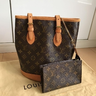 LOUIS VUITTON - ルイヴィトン Louis Vuitton モノグラム バケツ