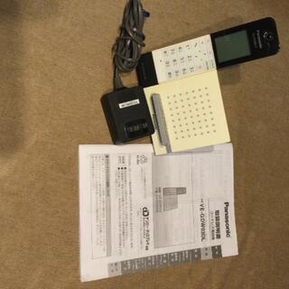 パナソニック(Panasonic)のPanasonic コードレス電話機  E-GDW03DL スマホ連携機能付き(その他)