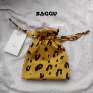 ロンハーマン(Ron Herman)のレオパード 巾着 leopard BAGGU baguu バグー(エコバッグ)