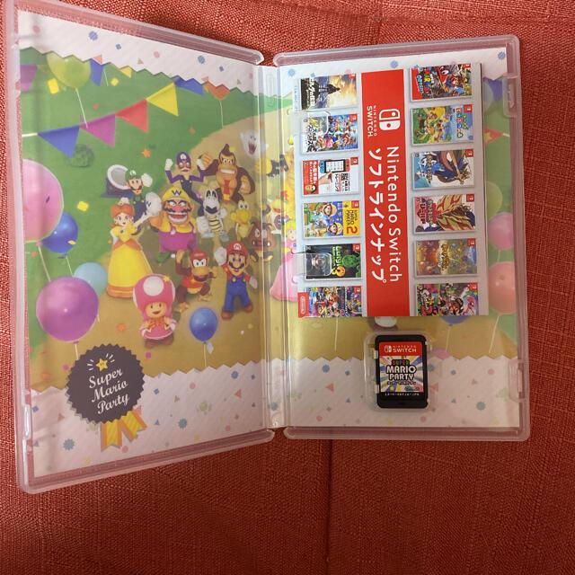 Nintendo Switch(ニンテンドースイッチ)の任天堂Switch スーパーマリオパーティー エンタメ/ホビーのゲームソフト/ゲーム機本体(家庭用ゲームソフト)の商品写真