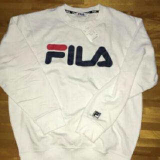 フィラ(FILA)のFILA トレーナー ホワイト(トレーナー/スウェット)