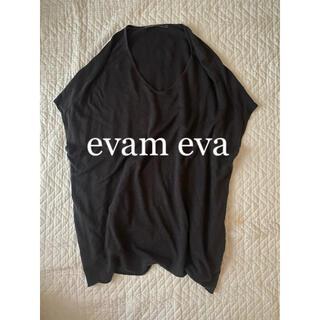 evam eva - evameva エヴァムエヴァ リネン チュニック ワンピース ヤエカ mhl