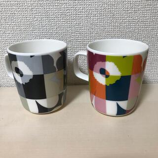 marimekko - 新品!marimekko★廃盤Unikkoマルチカラー マグカップ  2個セット