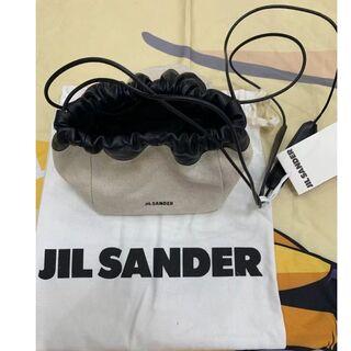 Jil Sander - 新品未使用☆正規品 ジルサンダー ドローストリング バッグ