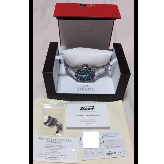 TISSOT(ティソ)のko33様専用 TISSOT シースター 1000 クォーツ メンズの時計(腕時計(アナログ))の商品写真