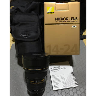 Nikon - NIKON AF-S NIKKOR14-24mm F2.8G ED 美品お買い得