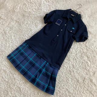 カッパ(Kappa)の美品 カッパ kappa レディース ワンピース ゴルフウェア ポロシャツ M(ウエア)