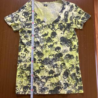 ルグランブルー(LGB)のルグランブルー スカル柄カットソー サイズ2(Tシャツ/カットソー(半袖/袖なし))