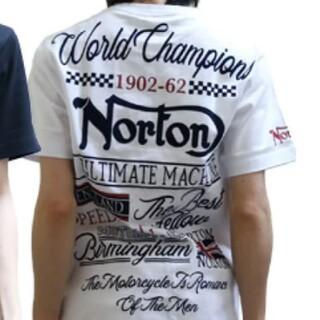 ノートン(Norton)のSALE!!6589円→3990円 新品NORTONノートンフロッキーTシャツ(Tシャツ/カットソー(半袖/袖なし))