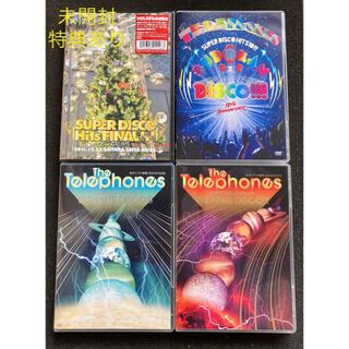 the telephones ライブDVD 4枚セット(ミュージック)