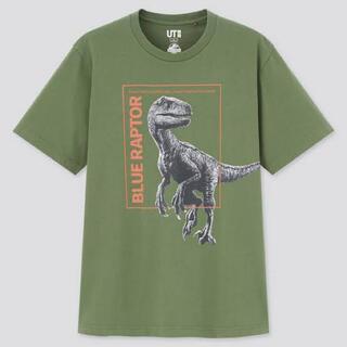 UNIQLO - 新品激安ジュラシックワールドUTメンズMブルー恐竜半袖春夏秋