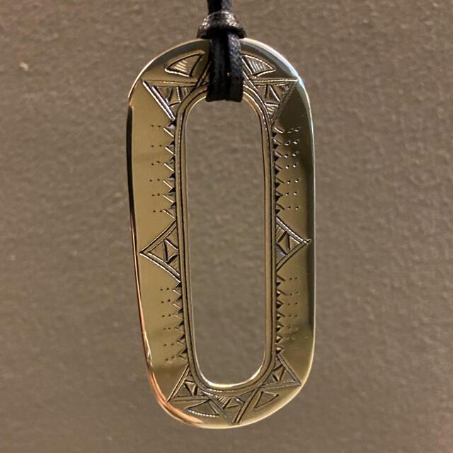 Hermes(エルメス)の国内エルメス6月購入 エルメス トゥアレグ ネックレス メンズのアクセサリー(ネックレス)の商品写真