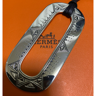 Hermes - 国内エルメス6月購入 エルメス トゥアレグ ネックレス