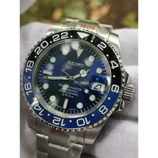 SEIKO - SEIKO MOD セイコー nh35 腕時計 カスタム 未使用品  バットマン