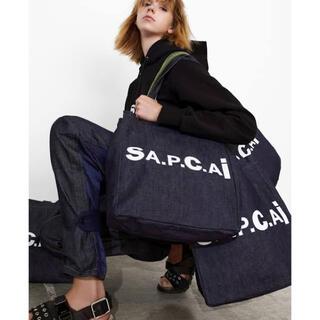 sacai - ★ SACAI APC サカイ アーペーセ トートバッグ ネイビー デニム