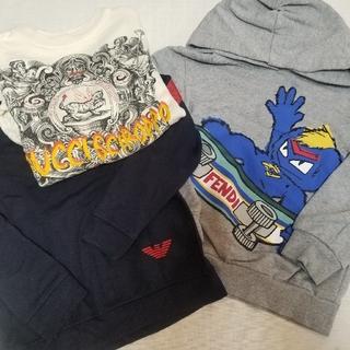グッチ(Gucci)のフェンディ グッチ アルマーニキッズ トレーナー3点セット(Tシャツ/カットソー)