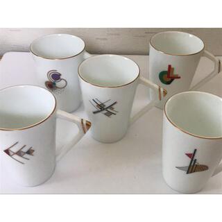 タチキチ(たち吉)のたち吉 Adam&Eve コーヒーカップセット(グラス/カップ)