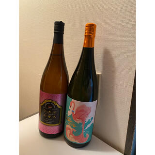 フラミンゴオレンジ・優しい時間の中で 一升瓶2本飲み比べ限定セット! (焼酎)