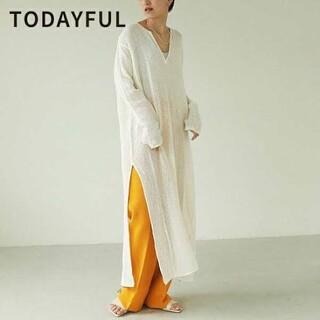 TODAYFUL - 新品 Todayful トゥデイフル ドレス ホワイト