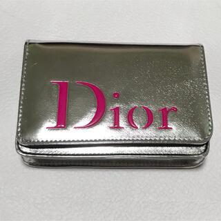 Dior - 【未使用品】Dior ディオール ノベルティ ポーチ silver