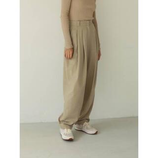 TODAYFUL - todayful Highwaist Tuck Trousers 36