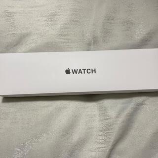 アップルウォッチ(Apple Watch)のApple watch SE 44mm GPS silver(腕時計(デジタル))