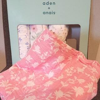 エイデンアンドアネイ(aden+anais)のエイデンアンドアネイ おくるみ 花柄C(おくるみ/ブランケット)