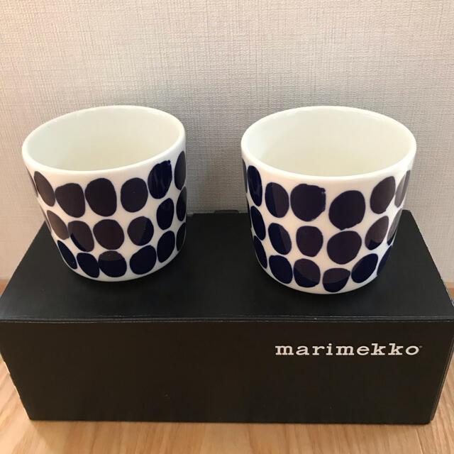 marimekko(マリメッコ)のマリメッコ フィンエアー コッペロ ラテマグ 2個セット インテリア/住まい/日用品のキッチン/食器(グラス/カップ)の商品写真