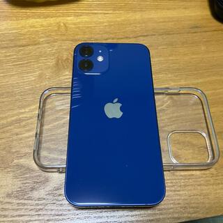 Apple - iPhone12 mini 128GB ブルー SIMロック解除済 au版