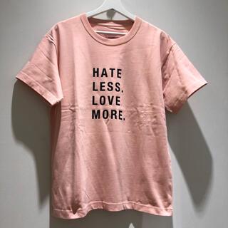 タトラス(TATRAS)のシーグリーン 01サイズ PINK Tシャツ Seagreen 新品未使用です!(Tシャツ/カットソー(半袖/袖なし))