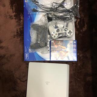 PlayStation4 - PS4 プレステ4本体 CUH-2200 500GB グレイシャーホワイト