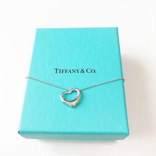 Tiffany & Co. - 【人気】TIFFANY&Co. エルサ・ペレッティ オープン ハート ペンダント