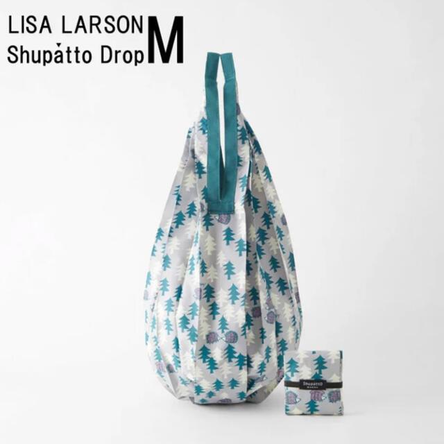 Lisa Larson(リサラーソン)のshupatto Mサイズ ドロップタイプ リサラーソン ハリネズミ  レディースのバッグ(エコバッグ)の商品写真