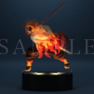 集英社 - 鬼滅の刃 DVD 特典 光る心を燃やせアクリルスタンド