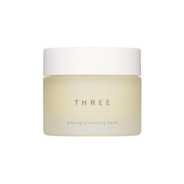 THREE(スリー)の新品🌼THREE エミング クレンジングバーム コスメ/美容のスキンケア/基礎化粧品(クレンジング/メイク落とし)の商品写真