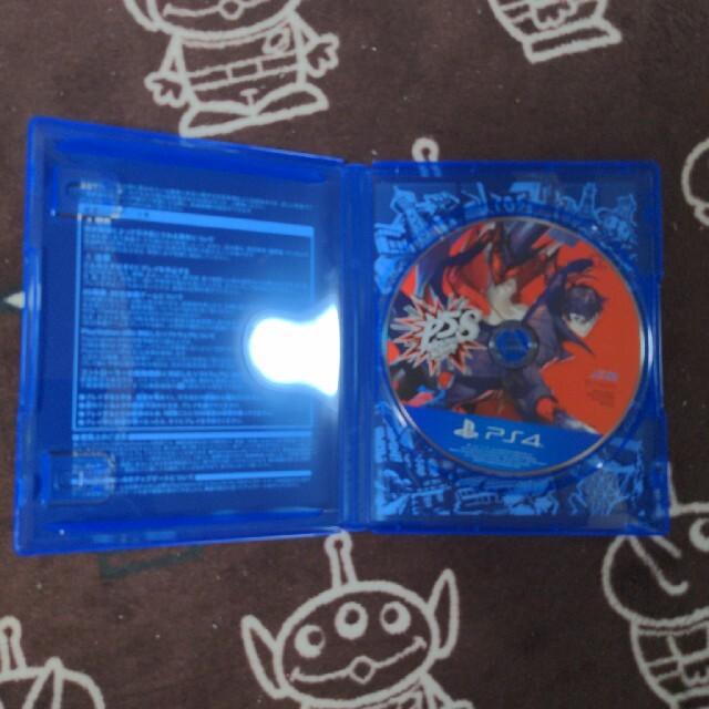 ペルソナ5 スクランブル ザ ファントム ストライカーズ PS4 エンタメ/ホビーのゲームソフト/ゲーム機本体(家庭用ゲームソフト)の商品写真