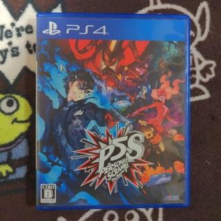 ペルソナ5 スクランブル ザ ファントム ストライカーズ PS4(家庭用ゲームソフト)