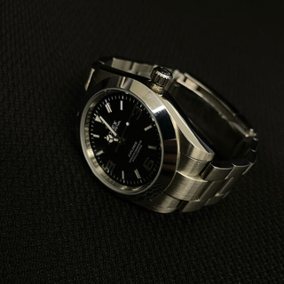 メンズ自動巻時計/3針EX1 タイプ / 黒文字盤 ルーレット