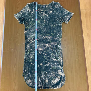 ルグランブルー(LGB)のルグランブルー ペイントデザインテレコ素材カットソー サイズ2(Tシャツ/カットソー(半袖/袖なし))