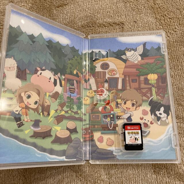 牧場物語 オリーブタウンと希望の大地 Switch エンタメ/ホビーのゲームソフト/ゲーム機本体(家庭用ゲームソフト)の商品写真