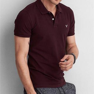アメリカンイーグル(American Eagle)のアメリカンイーグル ポロシャツ メンズ レディース 夏 ワンポイント(ポロシャツ)