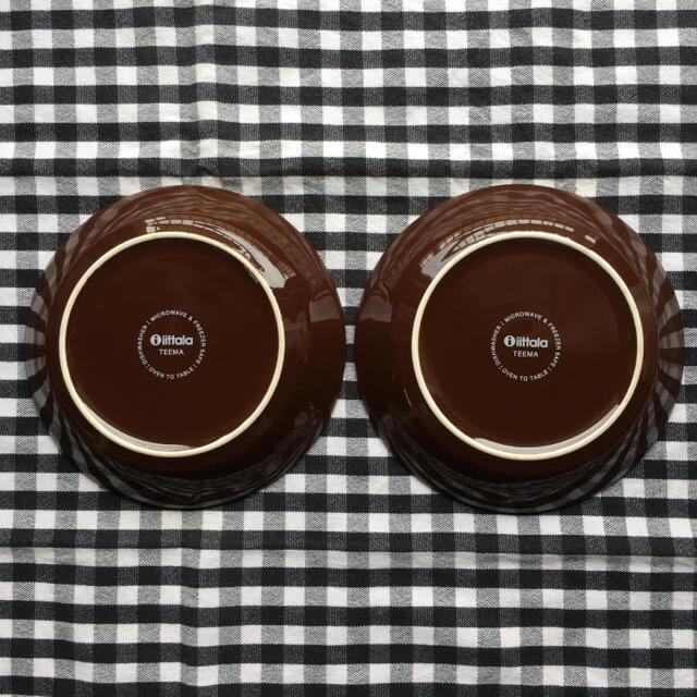 iittala(イッタラ)のイッタラ ティーマ   プレート   ブラウン 14cm 2枚 インテリア/住まい/日用品のキッチン/食器(食器)の商品写真
