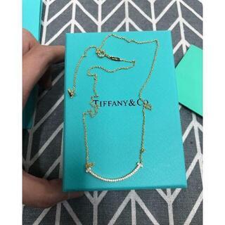 ティファニー(Tiffany & Co.)のティファニー Tスマイルネックレス(ネックレス)