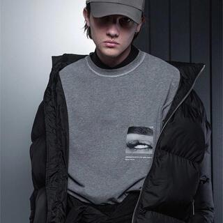 ヨウジヤマモト(Yohji Yamamoto)のARNODEFRANCE Tシャツ 灰(Tシャツ/カットソー(半袖/袖なし))