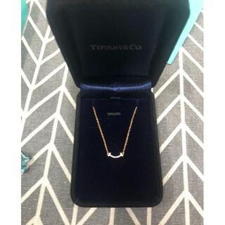 ティファニー(Tiffany & Co.)のティファニー T スマイルペンダント(ネックレス)