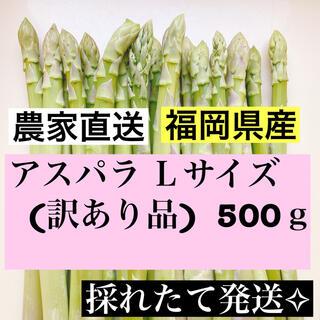 アスパラ Lサイズ(訳あり品)数量限定値下げ中(野菜)